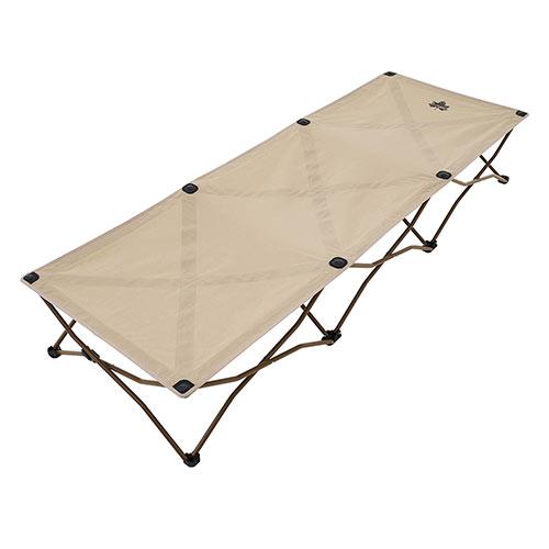 ロゴス LOGOS Tradcanvas コンフォートベッド 73173089 4981325528836 コット 折り畳みベッド