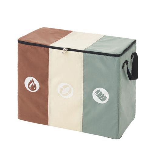 ロゴス LOGOS 分別できるフォールディングダストBOX 88230210 4981325529383 ゴミ箱 ダストボックス