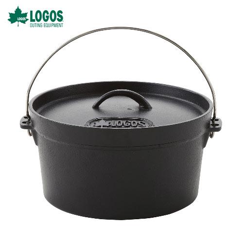 ロゴス(LOGOS) 81062229 SLダッチオーブン10inch・ディープ[バッグ付] すぐに使えるシーズニング不要!料理の幅が広がる深型IH対応!