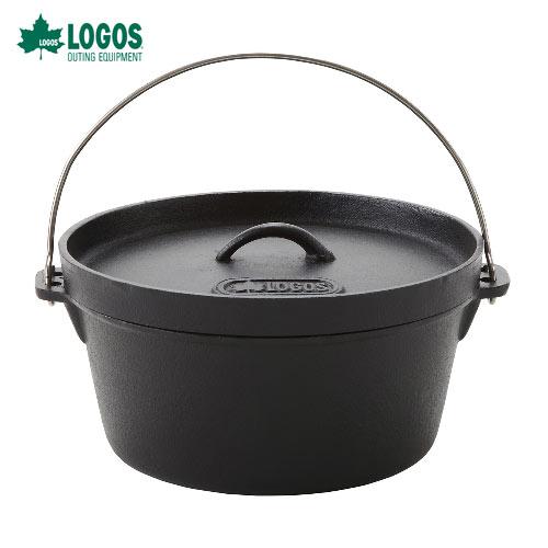 クーポン利用で最大1500円割引! ロゴス(LOGOS) 81062232 SLダッチオーブン12inch・ディープ[バッグ付] すぐに使えるシーズニング不要!料理の幅が広がる深型IH対応!