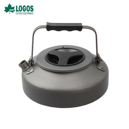ロゴス(LOGOS) 81210301 LOGOSザ・ケトル [750ml]携帯しやすいフラット型ケトル