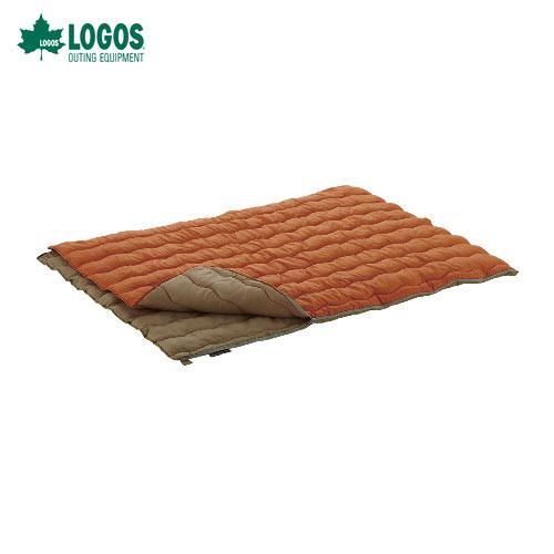 ロゴス LOGOS 寝袋 シュラフ 72600680 2in1・Wサイズ丸洗い寝袋・2 WHATNOT