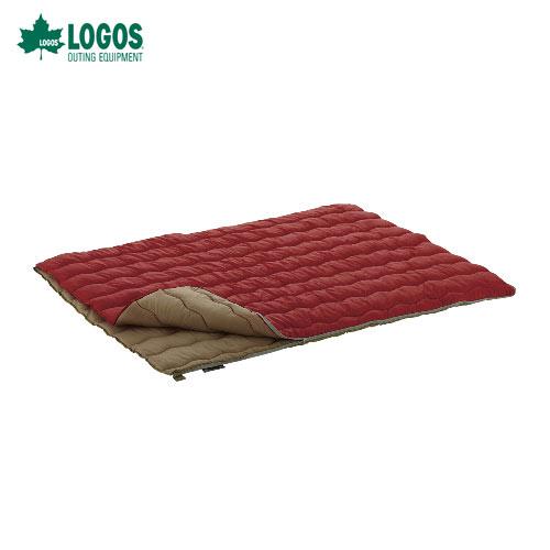 ロゴス(LOGOS) 寝袋 シュラフ72600690 2in1・Wサイズ丸洗い寝袋・0