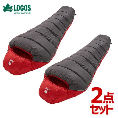 【2点セット】ロゴス LOGOS neos 寝袋 シュラフ 丸洗いアリーバ・-6 72940330 4981325529260 [R12AI010]