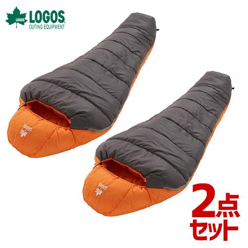 【2点セット】ロゴス LOGOS neos 寝袋 シュラフ 丸洗いアリーバ・-2 72940320 4981325529277 [R12AI011]
