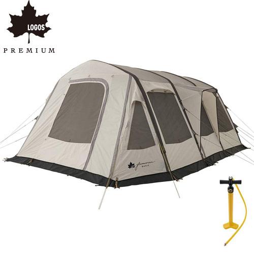 ロゴス LOGOS テント グランベーシック エアマジック リビングハウス WXL-AI テント 71805532 4981325527983 WHATNOT