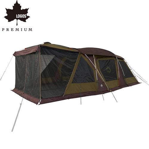 ロゴス LOGOS テント プレミアム 3ルームドゥーブル WXL-BJ テント 3ルームテント 虫除け 虫除けテント 71805536 4981325531966 WHATNOT