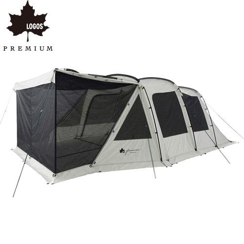 ロゴス LOGOS テント グランベーシック 3ルームトンネルドーム WXL-BJ テント 3ルームテント 71805545 4981325532130 WHATNOT