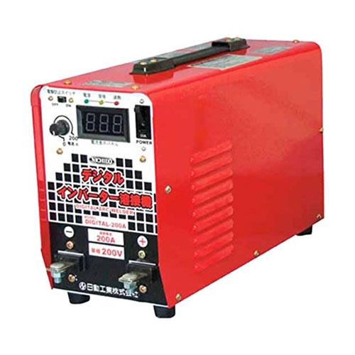 【SS】日動 直流溶接機 デジタルインバータ溶接機 単相200V専用 DIGITAL200A