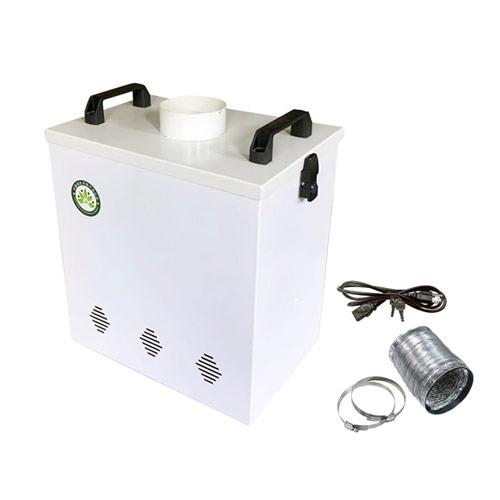 【10%OFFクーポン!】レーザーカッティングマシーン用集塵装置 LEA-05 ワークショップ 工作 日曜大工 工作 図工 刻印