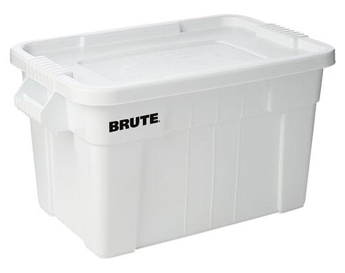 ラバーメイド[Rubbermaid] BRUTE トート ボックスLサイズ[ホワイト] FG9S3100WHT 収納ケース ツールボックス 収納ボックス ラゲッジケース ラゲッジボックス