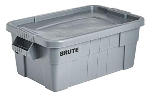 ラバーメイド[Rubbermaid] BRUTE トート ボックスSサイズ[グレー] 9S30 収納ケース ツールボックス 収納ボックス ラゲッジケース ラゲッジボックス