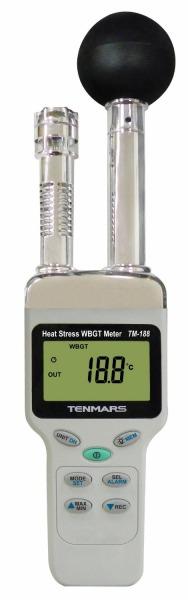 【SS】デジタル熱中症指数モニター[専用ソフト・USBケーブル、ACアダプタ付属] TM-188D マザーツール