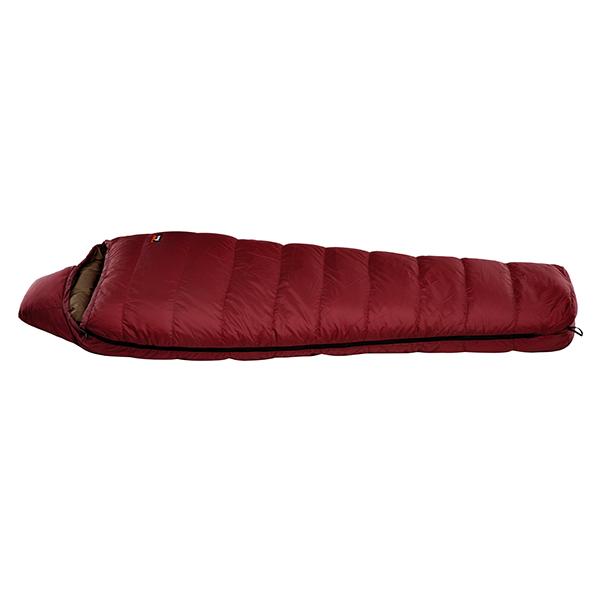 ナンガ[NANGA] シュラフ 寝袋 マミー型 アウトドア ダウンバッグ600STD DB25 プラムレッド ショート