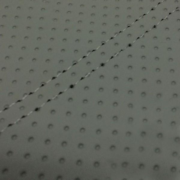 グロンドマン バイク シートカバー ヤマハ YAMAHA エンボスグレー/透明ダブルステッチ 張替 シグナスX[SE12J]台湾仕様