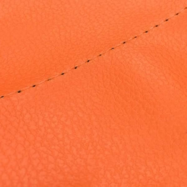 クーポン利用で最大1500円割引! グロンドマン GRONDEMENT バイク シートカバー カワサキ kawasaki オレンジ/透明ステッチ 張替 バリオス[ZR250]