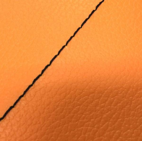 グロンドマン GRONDEMENT バイク シートカバー カワサキ kawasaki オレンジ/黒ステッチ 張替 バリオス[ZR250]