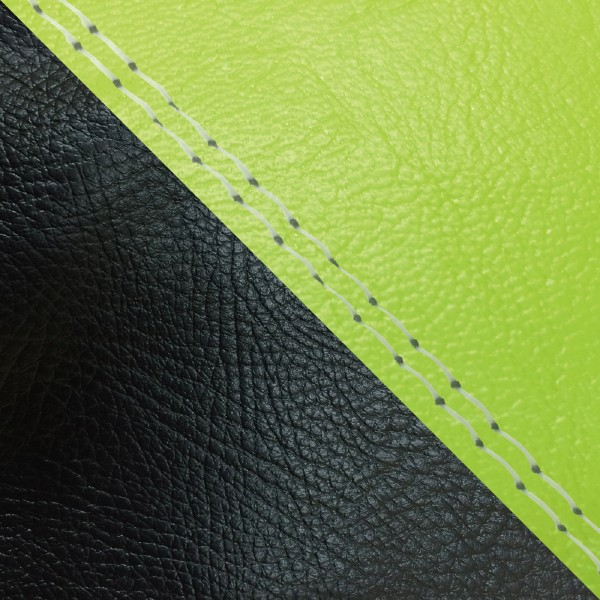 グロンドマン GRONDEMENT バイク シートカバー カワサキ kawasaki ライムグリーン・黒/透明ダブルステッチ 張替 KSR50/80[KMX50B/80B]