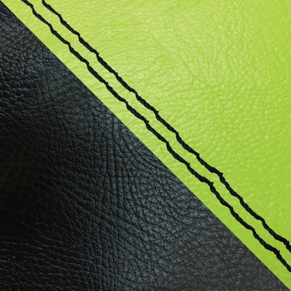 グロンドマン バイク シートカバー ホンダ HONDA ライムグリーン・黒/黒ダブルステッチ 張替 ダンク[AF74]