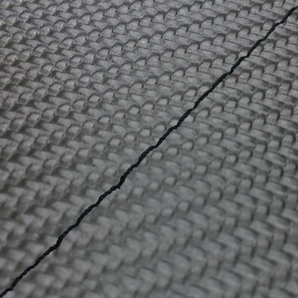 グロンドマン GRONDEMENT バイク シートカバー カワサキ kawasaki カーボンブラック/黒ステッチ 張替 バリオス[ZR250]