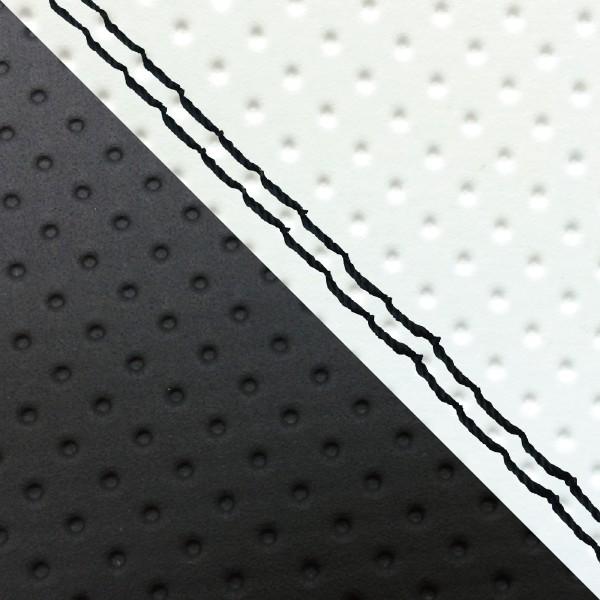 グロンドマン バイク シートカバー ホンダ HONDA エンボスホワイト・エンボス[黒]/黒ダブルステッチ 張替 ダンク[AF74]