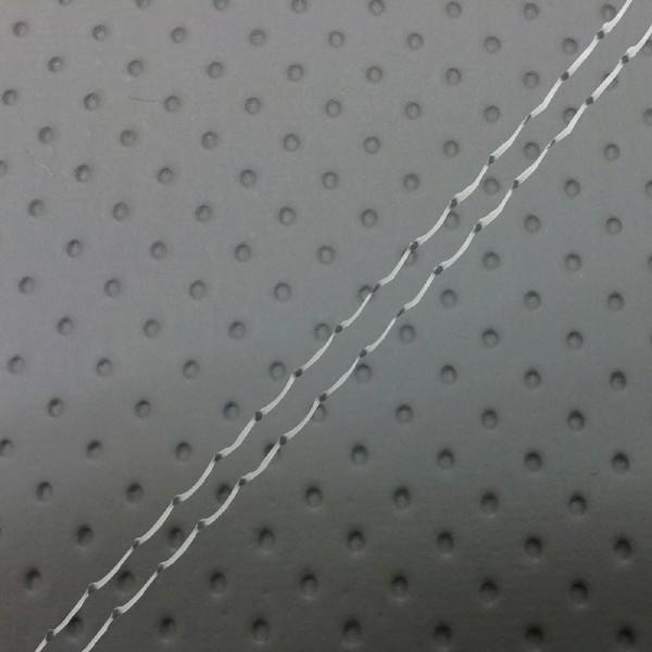 グロンドマン GRONDEMENT バイク シートカバー カワサキ kawasaki フルエンボスグレー/透明ダブルステッチ 張替 バリオス[ZR250]