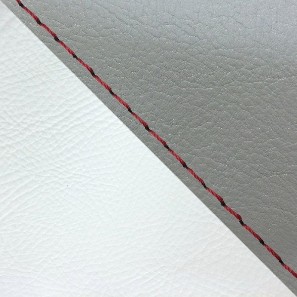 グロンドマン バイク シートカバー ホンダ HONDA ダークグレー・白/赤ステッチ 被せ ジュリオ[AF52]