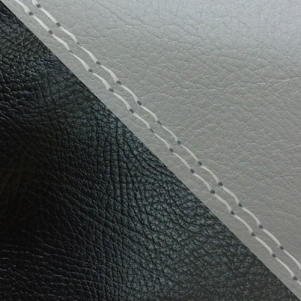 グロンドマン バイク シートカバー ホンダ HONDA ダークグレー・黒/透明ダブルステッチ 張替 ダンク[AF74]