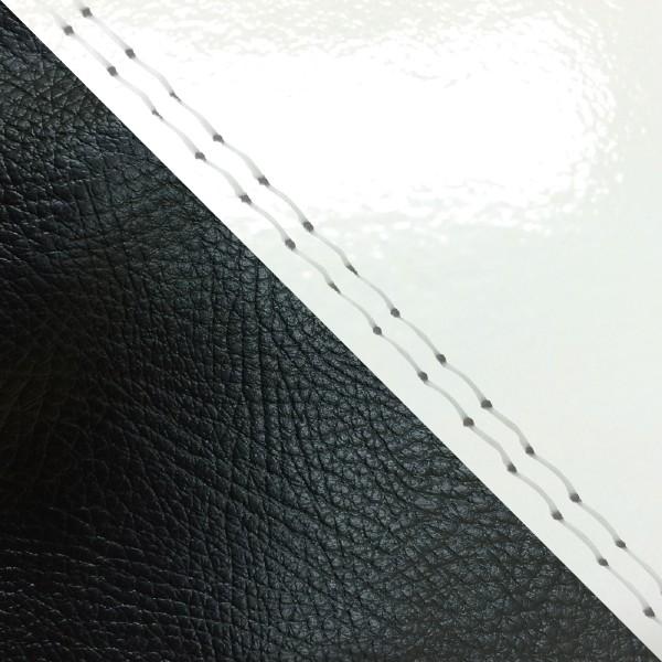 グロンドマン バイク シートカバー ホンダ HONDA エナメルホワイト・黒/透明ダブルステッチ 張替 ジュリオ[AF52]