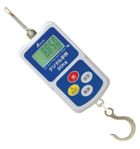 シンワ デジタル手秤 20kg 70109
