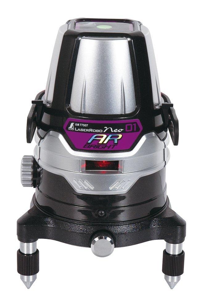 シンワ レーザーロボ Neo 01AR BRIGHT 受光器・三脚セット 78218