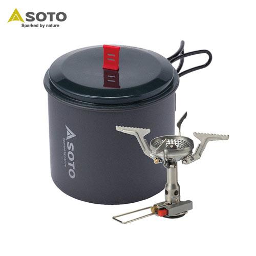 [SOTO/ソト]アミカスポットコンボ SOD-320PC バーナー&クッカーセット