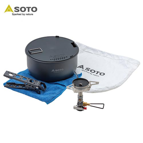 SOTO シングルバーナー ウインドマスタークッカーコンボ SOD-310CC 4953571693101