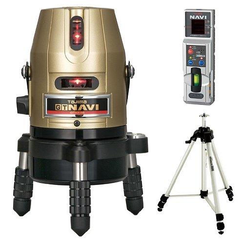 タジマ レーザー墨出し器 GT5Z-NI [NAVI] 三脚セット GT5Z-NISET