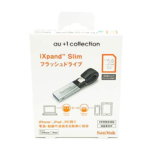 SanDisk iXpand 《週末限定タイムセール》 Slim SDIX30N-128G-JKACE 販売実績No.1 128GB フラッシュドライブ