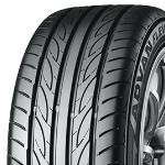 17インチ サマータイヤ セット【適応車種:ES(10系)】AXEL  アクセル ファイブ メタルグレー 7.0Jx17ADVAN フレバ V701 215/55R17