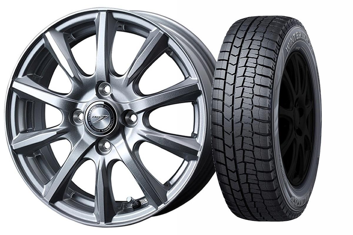 16インチ スタッドレスタイヤ ホイールセット【適応車種:バレーノ(WB42S)】WEDS  ジョーカー ストレート シルバー 6.0Jx16WINTER MAXX WM02 195/50R16