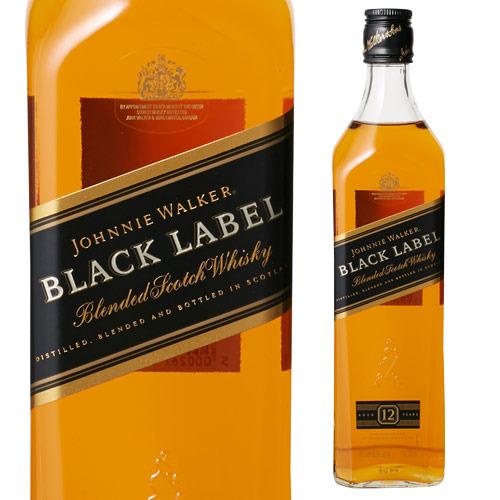 ギフ_包装 ジョニーウォーカー ブラック 黒 正規 40度 700ml ウィスキー ブラックラベル ウイスキー 売れ筋ランキング ジョニ黒 長S