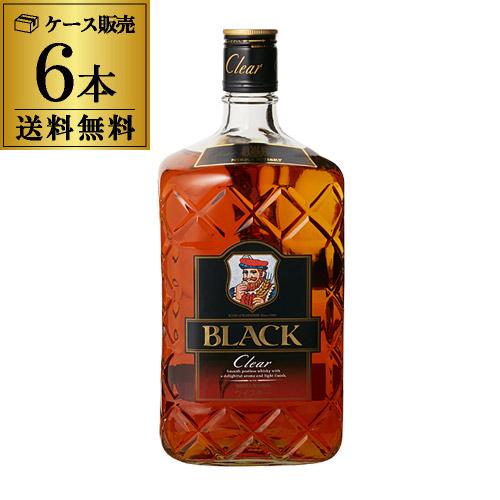 ニッカ ブラックニッカ クリア1.92L(1920ml)×6本【ケース6本入】【送料無料】[ウイスキー][ウィスキー]japanese whisky [長S]