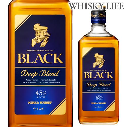 ニッカ ブラックニッカ 日本メーカー新品 日本未発売 ディープブレンド 700ml ウイスキー whisky ウィスキー 長S japanese