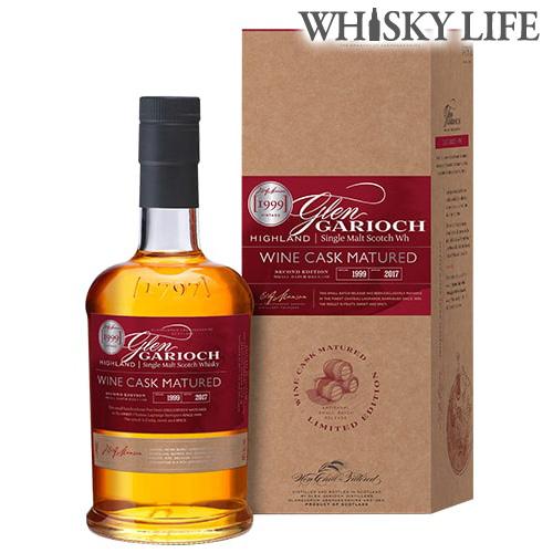 数量限定 グレンギリー 1999 ワイン熟成 700ml 48度 シングルモルト ハイランド スコッチ ウイスキー