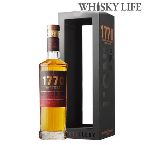 1770 グラスゴー シングルモルト 700ml 46度 ローランド スコッチ ウイスキー The Glasgow Distillery ファーストリリース3年熟成 1stフィルバーボン樽