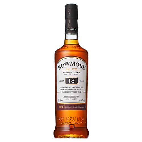 ボウモア 18年 700ml likaman_BO18 アイラ 最新アイテム 新品未使用 ウィスキー スコッチ シングルモルト ウイスキー