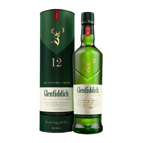 シングルモルトのパイオニア 専用箱付 グレンフィディック 12年 700ml 長S 高品質 whisky_YGFJ12 シングルモルト ウィスキー スコッチ ウイスキー 在庫一掃