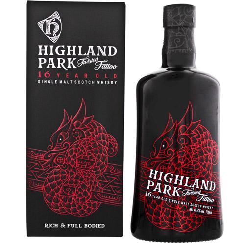 ハイランドパーク16年 ツイステッドタトゥー 46.7度 700ml Highland Park スコッチ ウイスキー シングルモルト アイランズ whisky 長S