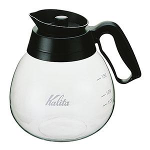 熱湯用 コーヒーメーカー用デカンタ コーヒー ドリッパー 耐熱 着後レビューで 送料無料 カリタ 1.8L Kalita 超特価 ブラック デカンタ 32003