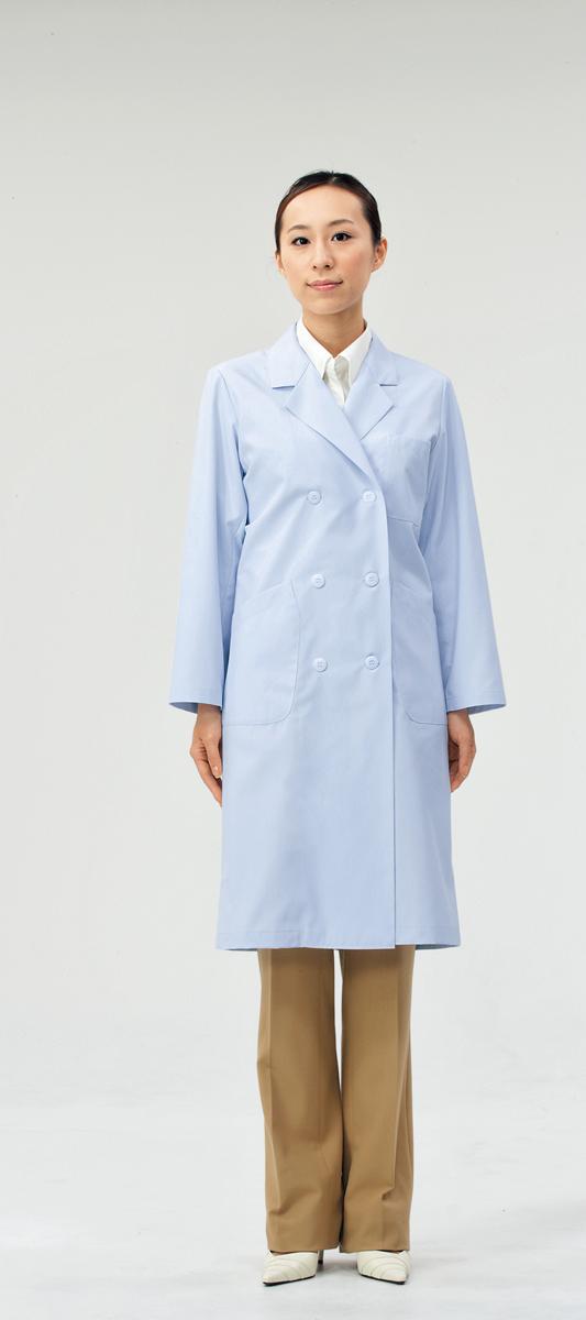 休み モンブラン 71-073 ドクターコート レディス 白衣 診察衣 ご注文で当日配送