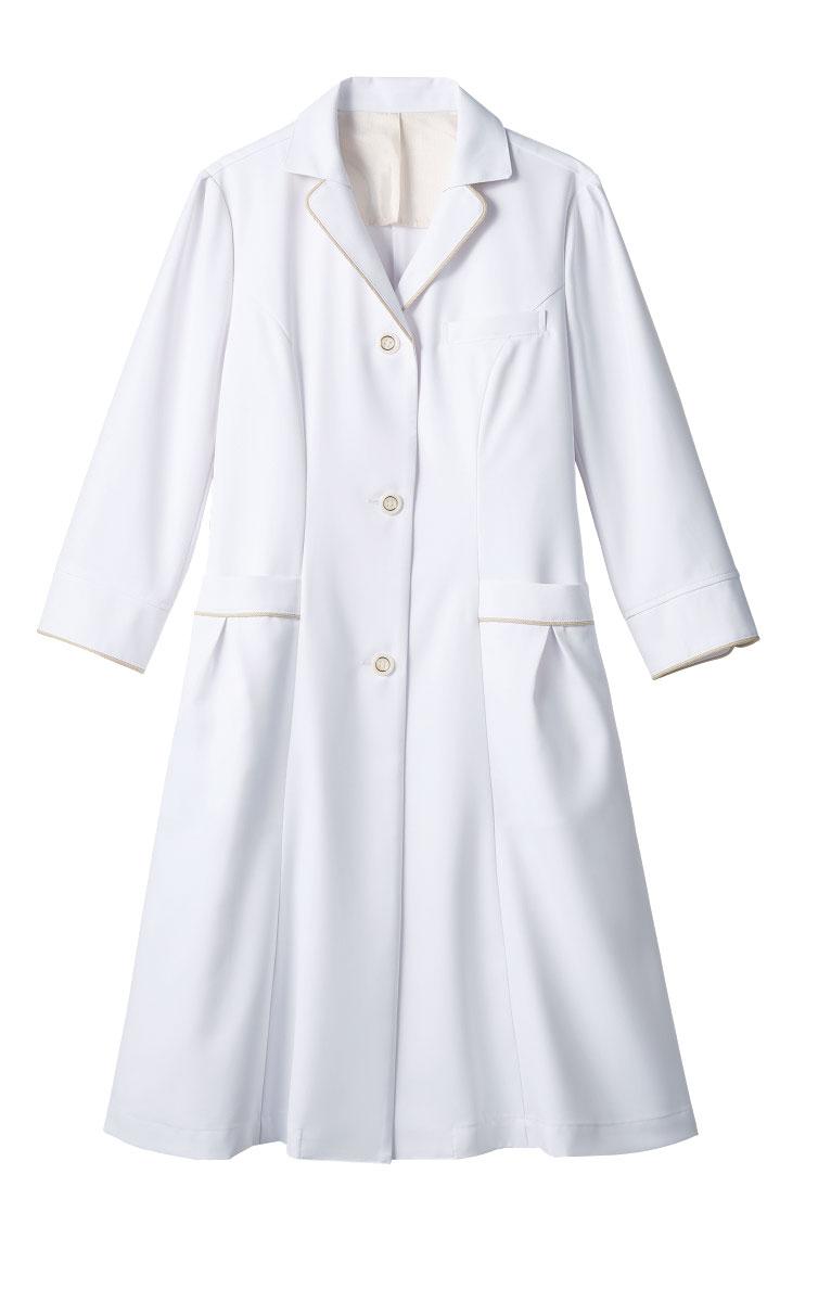 白衣 モンブラン MONTBLANC EN121-11 ドクターコート 7分袖 レディース En女医会 2019年新作商品