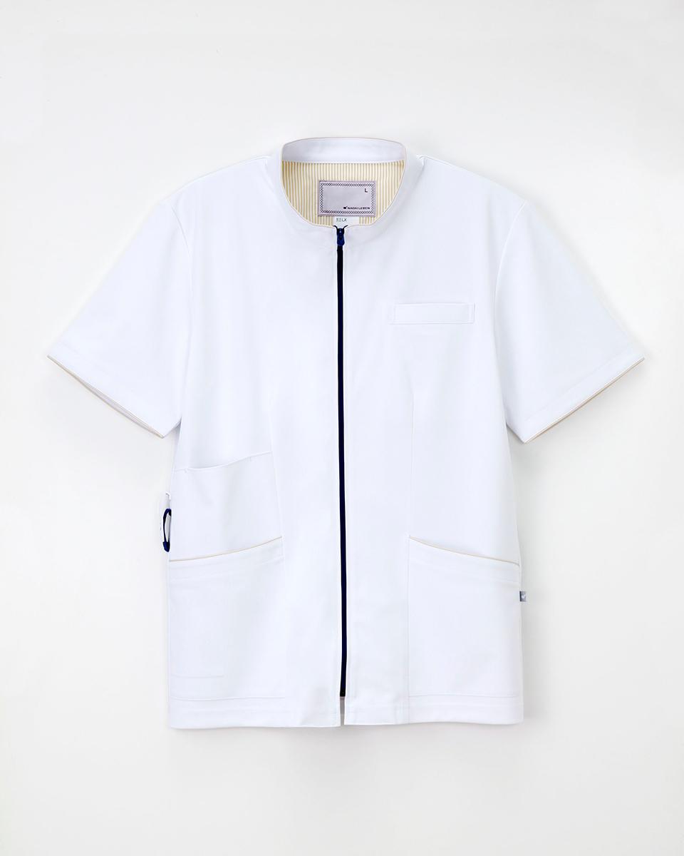 ナガイレーベン 医療用白衣 上衣 LX-3737 男性用 訳あり品送料無料 メンズ 白衣 バーゲンセール