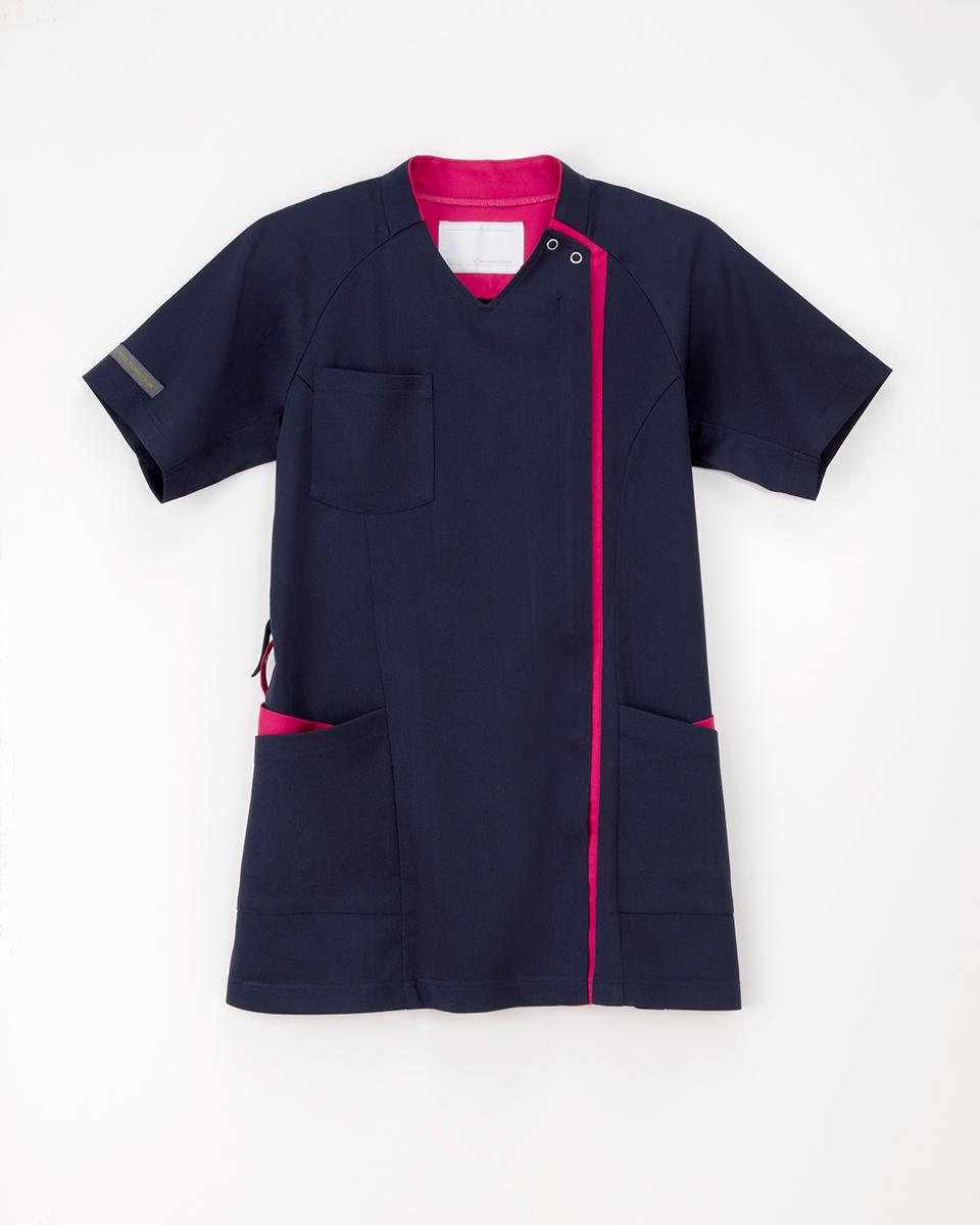 ナガイレーベン 医療用白衣 上衣 RF-5182 女性用 セール品 レディース 白衣 2019年新作商品 美品 スクラブ